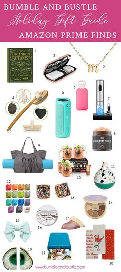 ba96fc5540c Last Minute Holiday Gift Guide Great Gift Ideas on Amazon Prime Photo By  Bumble and Bustle #holiday #giftguide #giftideas #gifts #amazon #shopping  #beauty # ...