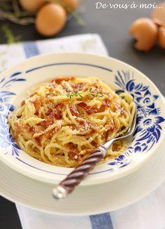 De vous à moi...: Spaghetti Carbonara et Vacances Romaines (2)