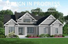 The Josephine house plan 1355 is now in progress!  2713 sq ft | 5 Beds | 3 Baths #wedesigndreams #dongardnerarchitects #houseplans #homeplans #floorplans #twostory  #modernfarmhouse #country Modern Farmhouse Design, Modern Farmhouse Exterior, Farmhouse Homes, Bedroom House Plans, Cottage House Plans, Dream House Plans, Adele House, Unique Small House Plans, Country Style House Plans