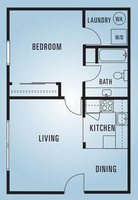 Sycamore Lane Apartments - Floor Plans