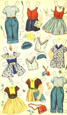 Jane and Jack Paper Dolls - Dell Publishing: Page 5 (of 6)