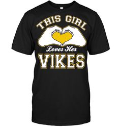 This girl love her Vikes