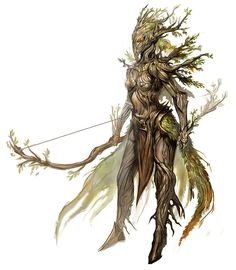 The Sylvari of Guild Wars 2 - Take the idea of the dryad, add a dash of elf, create a compelling story for their existence, and hire top notch artists. Very cool race idea.