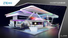 ZTE Beijing PT show on Behance