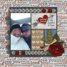 """2 Be 2Gether""  *Memory Clips - I Love You Template  * Memory Clips - Every Day Romance & p.s. I Love You  *Font - Sofia"