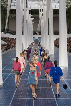 The finale of Chanel Spring 2013 #PFW Paris #Fashion Week