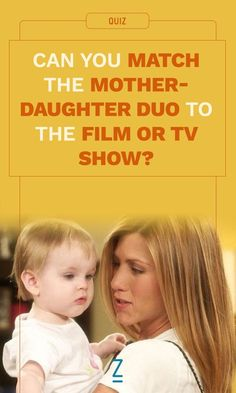 Can You Match the Mother-Daughter Duo to the Film or TV Show?