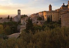 Assissi, Italy..I could live here a sell tomatoes along the road.