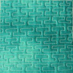 I really like this quilting.