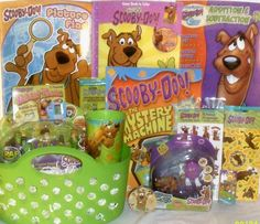 NEW SCOOBY DOO EASTER TOY GIFT BASKET BIRTHDAY GIFT ACTION FIGURE TOYS PLAYSET  | eBay