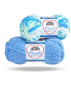 Soft and cushiony, this textured yarn is perfect for snuggly baby blankets, sweaters and more!