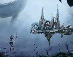 """Check out new work on my @Behance portfolio: """"20000 Leagues under the sea"""" http://be.net/gallery/57675417/20000-Leagues-under-the-sea"""