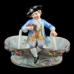 Meissen Style Porcelain Figure