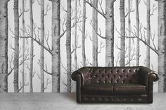 illustrated forest wallpaper - Google zoeken