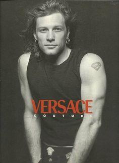Jon Bon Jovi Versace ad