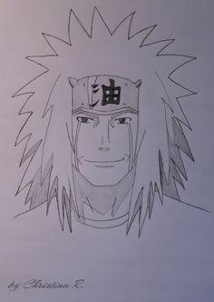 First tray Jiraya Jiraiya Kakashi Drawing, Naruto Sketch Drawing, Anime Drawings Sketches, Anime Sketch, Wallpaper Naruto Shippuden, Naruto Shippuden Anime, Anime Naruto, Boruto, Naruto Drawings Easy