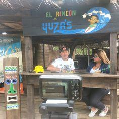 Activados con el pana Yuza en su rincón de Playa Pepe, en Caicara de Barcelona,  donde los invitamos a disfrutar de un día diferente. Y con la mejor atención.