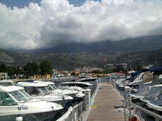 jachty w porcie w Budvie - Czarnogora Montenegro Budva #Czarnogóra #Montenegro #Budva #Kotor #Św #Stefan #Nikola #Podgorica #Adriatyk #Matuszyk #Adriatyk #Kotor