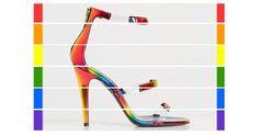 Les sandales Frontline Rainbow de Tamara Mellon