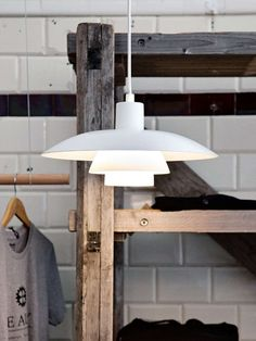 PH Pendant Lamp by Louis Poulsen: iconic pendant luminaire from the by Henningsen, now available in the interior design shop! Shop Interior Design, House Design, Ph Lamp, Logarithmic Spiral, Black Bedroom Design, Modern Wooden House, Berlin Design, Diffused Light, Pendant Lamp