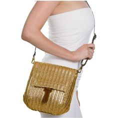 Eric Javits Jade featuring polyvore, women's fashion, bags, handbags, shoulder bags, gold, purse crossbody, man shoulder bag, shoulder strap handbags, crossbody shoulder bag and crossbody handbags