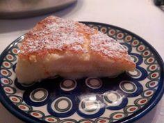 Lemon layer pudding / Warstwowy deser cytrynowy