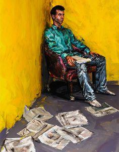 Alexa Mead - real people painted to look like paintings