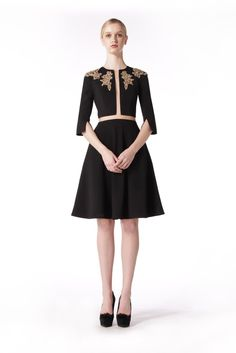 Military Dresses, Flare Skirt, Cap Sleeves, Hemline, Macrame, Ready To Wear, Product Description, Formal Dresses, Lace