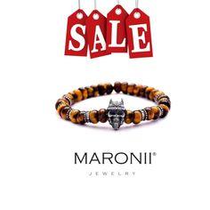 Sale!!!!!! Maronii bracelet :) www.maronii.cz   #maronii #bracelet #jewelry #silver #handmade #naturalstone #modern #style #czechrepublic #2016