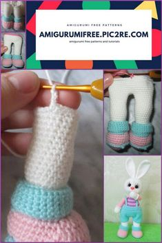 We share a very nice rabbit pattern with you. You can visit our website for free amigurumi patterns from each other. Easter Crochet Patterns, Crochet Patterns Amigurumi, Crochet Dolls, Fast Crochet, Single Crochet Decrease, Crochet Christmas Gifts, Crochet Toddler, How To Start Knitting, Crochet Projects