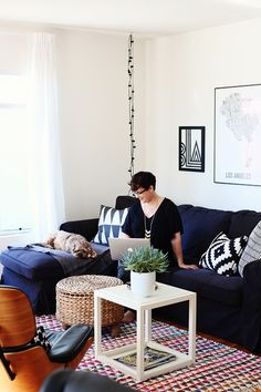 Cori Magee's Los Angeles homeoozes creativity and fresh design perspective. Once you know her story, it's easy to see why!As ...