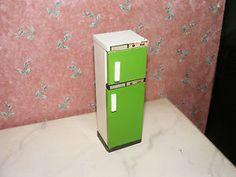 Età frigorifero - 60-70er anni-Lundby-Lisa-casa delle bambole-bambole Tube - 1:18 - RARO | eBay