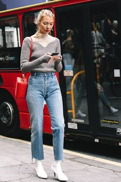 A Fashion-Forward Denim Look For Fall