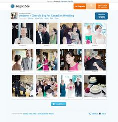 You'll be amazed how different your wedding will look through the eyes of your guests..