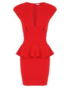 Farsin Bodycon Peplum Dress x  http://www.missguided.co.uk/farsin-bodycon-peplum-dress-41584 #MGcompetition @missguidedcouk