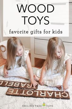 Shop personalized wooden toys like name puzzles to teach toddlers their name while also working on problem-solving and motor skills. Keepsake Christmas gift for kids. Childrens Gifts, Christmas Gifts For Kids, Wood Toys, Motor Skills, Problem Solving, Baby Toys, Puzzles, First Birthdays, Toddlers