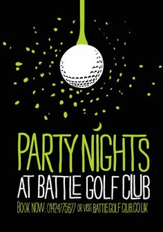 Golf Party Flyer