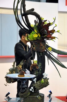 Pastry Show Pieces | chocolate showpiece from the malaysian team sugar showpiece from the