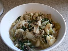 Italian-Style Chicken and Mushroom Soup - Bless This Mess