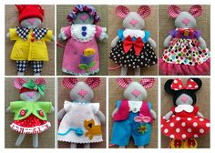 I am so-loving my newest project....Sweet Wee Mozzarella and her 8-Outfit Wardrobe!                                      And the pattern is ...