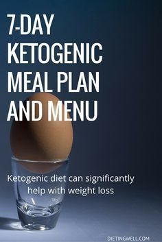 This is a detailed meal plan for a ketogenic diet based on real foods, and a sample ketogenic diet menu for one week. | dietingwell.com #fitnessdietplan #KetogenicDietMenu