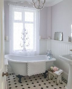 Here are the Farmhouse Bathroom Remodel Ideas. This article about Farmhouse Bathroom Remodel Ideas was posted under the Bathroom category. Vintage Bathrooms, Bathroom Makeover, Shabby Chic Bathroom, Vintage Bathroom Decor, Victorian Bathroom, Bathroom Interior, Bathroom Flooring, Cottage Bathroom, Cottage Bathroom Design Ideas
