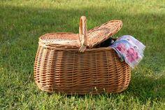 Kosze piknikowe. Kosz piknikowy BM 226. Wiklinowy Dom.
