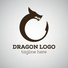 Dragon logo with tagline