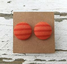 Check out this item in my Etsy shop https://www.etsy.com/listing/562808677/fabric-button-post-earrings-dark-and
