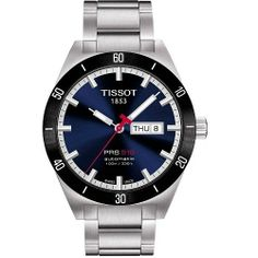 Tissot PRS 516 Automatic Men s Blue Dial Watch with Stainless Steel Bracelet 190483c32e