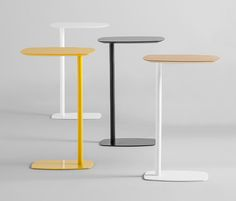 LAN tables have been designed to be a practical accessory for sofas and… C Table, Sofa Side Table, Coffe Table, Side Tables, Coffee Cups, Steel Furniture, Home Decor Furniture, Table Furniture, Furniture Design