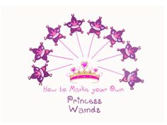 Perfect Princess Party Activity!   Simple and fun, plus no-mess!