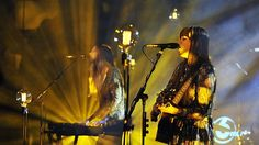 Klara and Johanna from First Aid Kid  (First Aid Kit live at Maida Vale 07.10.2014)