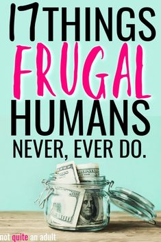 Learning the ways of the frugal can often help you to realize what mistakes you're making in your life. Learn 32 things that frugal people don't do! Best Money Saving Tips, Money Saving Challenge, Money Tips, Money Budget, Money Saving Hacks, Living On A Budget, Frugal Living Tips, Frugal Tips, Debt Free Living